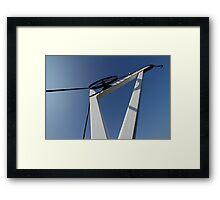 19th Centry Crane - Newbury Warf Framed Print