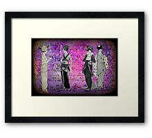 I Need to Tell You Something Framed Print