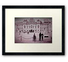 In Wait, for Directions Framed Print