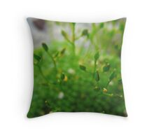 Chlorophyll Green Throw Pillow