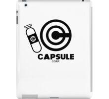Capsule Corp v1 iPad Case/Skin