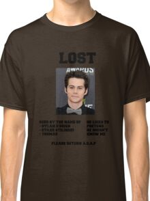 LOST POSTER - DYLAN O'BRIEN Classic T-Shirt