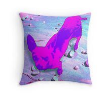 Precious Pup Throw Pillow