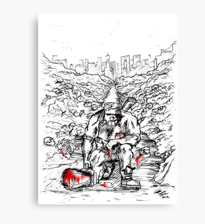 Army Of Darkness Canvas Print