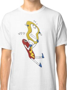 Hot Dog Love Classic T-Shirt