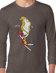 Hot Dog Love Long Sleeve T-Shirt