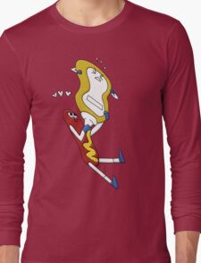 Hot Dog Love Long Sleeve T-Shirt
