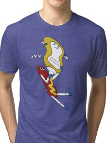 Hot Dog Love Tri-blend T-Shirt