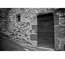 ruralscapes #99, stone & wood  Photographic Print