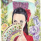 Spanish Eyes 1 by morgansartworld