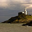 Guiding Light - Mumbles Lighthouse by digihill