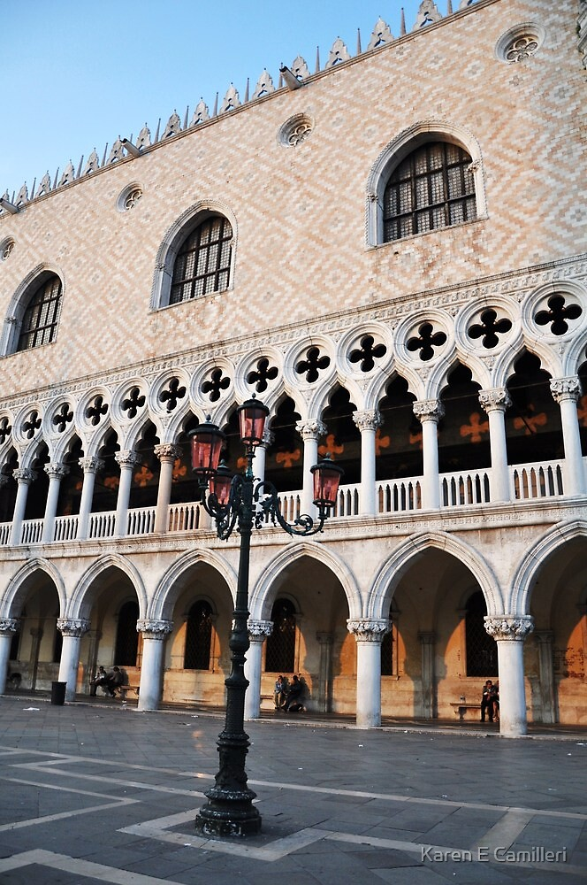 Palazzo Ducale by Karen E Camilleri