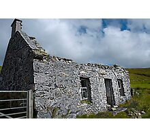 Lonely Old Croft - Vidlin Photographic Print
