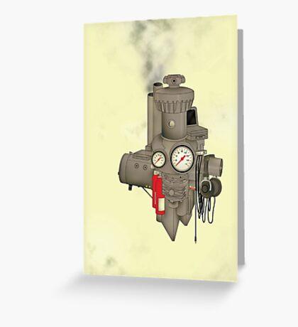 The Machine Greeting Card