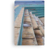 Ocean baths grandstand Canvas Print