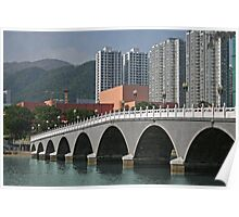 New Territories Hong Kong. Poster