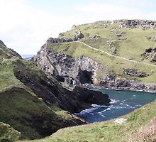 Tintagel, Cornwall. by Emma Coles