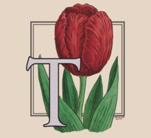 T is for Tulip - full image by Stephanie Smith