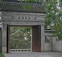 Suzhou Garden Gate by GW-FotoWerx