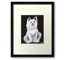 Furry Pet Framed Print