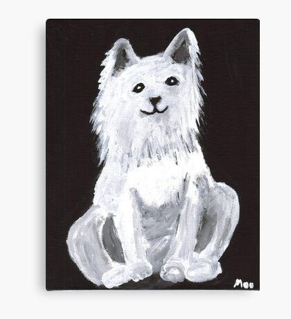 Furry Pet Canvas Print