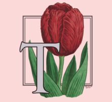 T is for Tulip - patch Kids Clothes