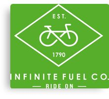 Infinity Bicycle Canvas Print