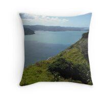 Manukau Harbour from Awhitu Peninsula Throw Pillow