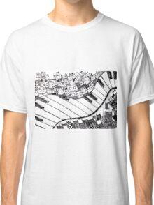 Music. Love.  Classic T-Shirt