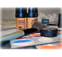 Make-Up Photographic Print