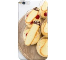 What's for pudding? iPhone Case/Skin