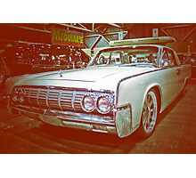Lincoln Cruiser Photographic Print