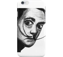 Salvador Dali And The Magnificent Mustache iPhone Case/Skin