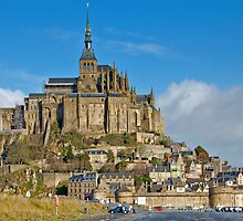 Mont St-Michel in the morning by Ian Fegent