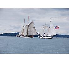 Battle at sea Photographic Print