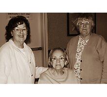 3 Beautiful Sisters Photographic Print
