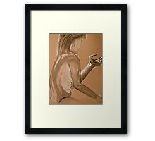 The Mystery of Light Framed Print