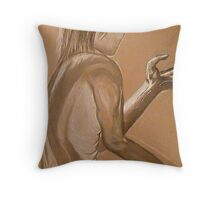 The Mystery of Light Throw Pillow