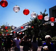 little tokyo -- lanterns by hitomimyhomie
