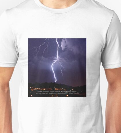 Uncertainty of Science Unisex T-Shirt