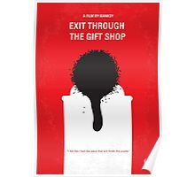 No130 My Exit Through the Gift Shop minimal movie poster Poster
