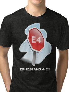 Bible study V2 Tri-blend T-Shirt