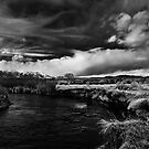 Storm Over the Owens River by Chris Morrison