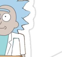 Tiny Rick and Morty Sticker