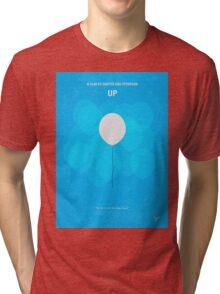 No134 My UP minimal movie poster Tri-blend T-Shirt