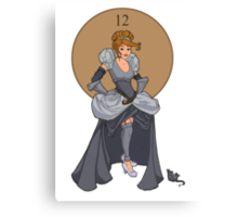 Steampunk Cinderella Canvas Print