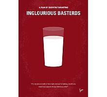No138 My Inglourious Basterds minimal movie poster Photographic Print
