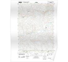 USGS Topo Map Oregon Mill City North 20110816 TM Poster