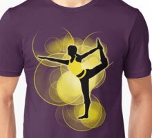 Super Smash Bros. Yellow Wii Fit Trainer (Female) Silhouette Unisex T-Shirt