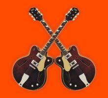Double eastwood electric guitars Kids Tee